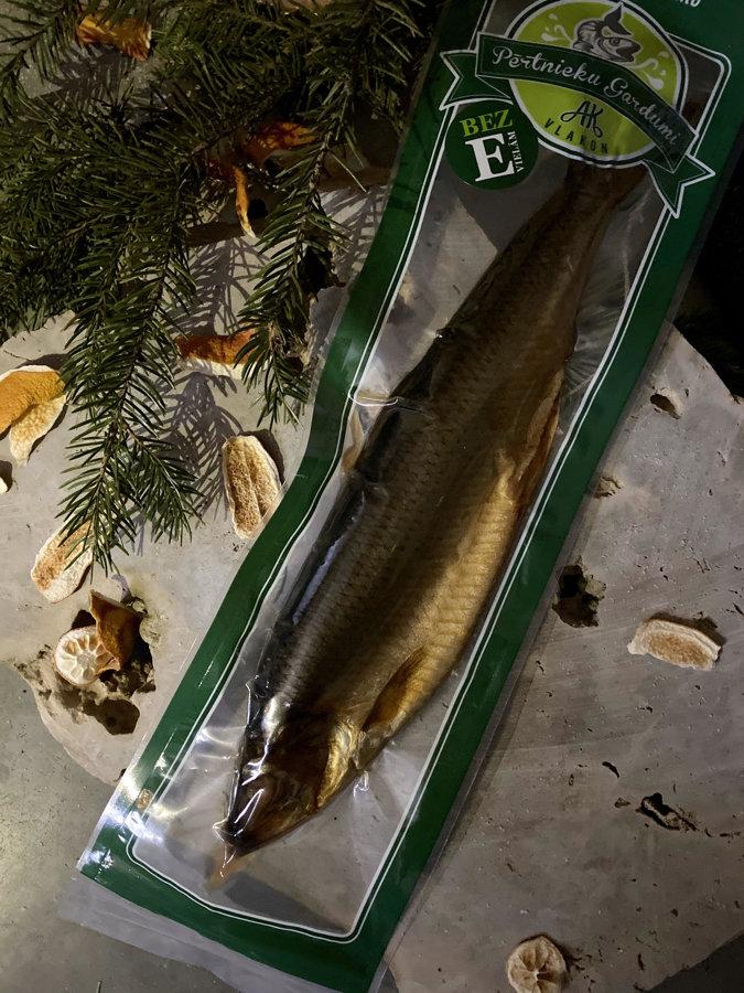 Cold smoked herring