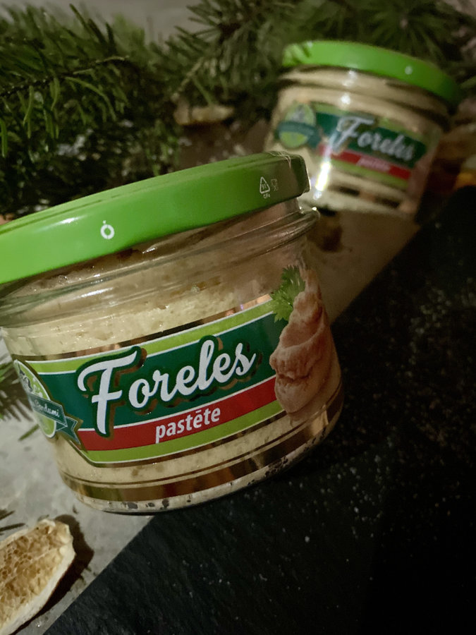 Trout pate' (180g)