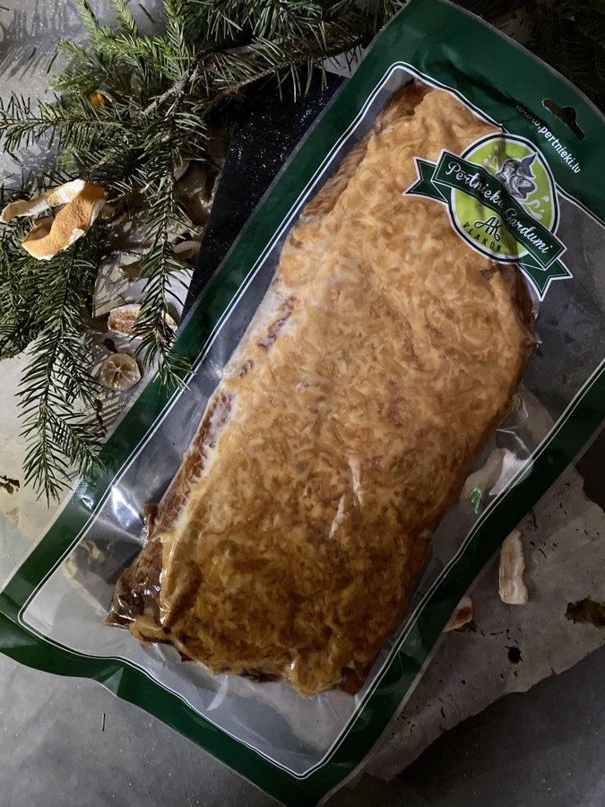 Karsti kūpinātas karpas fileja ar sieru