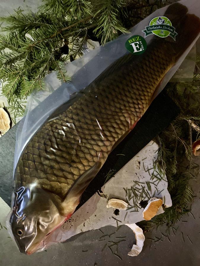 Ungutted carp